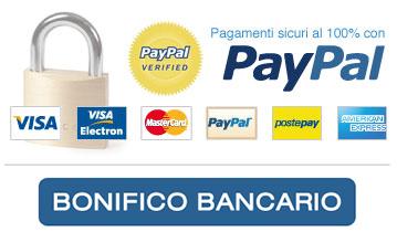 Pagamenti sicuri online Campania tradizione PayPal