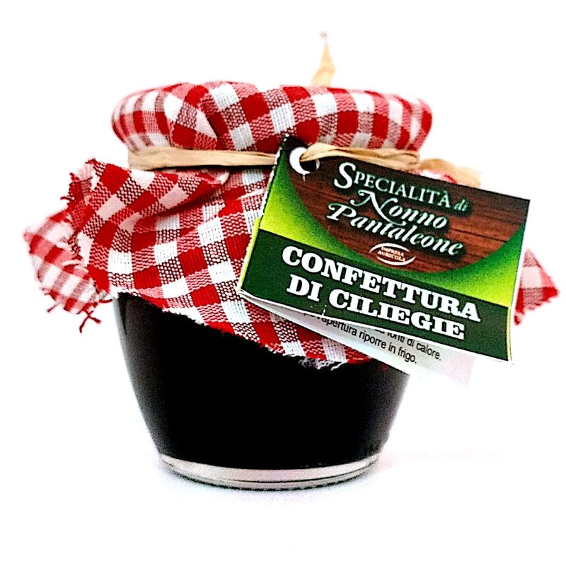 confettura di ciliegie 240 gr naturale