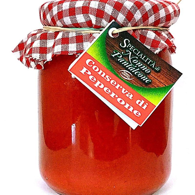 Conserva Di Peperone 450 Gr Naturale