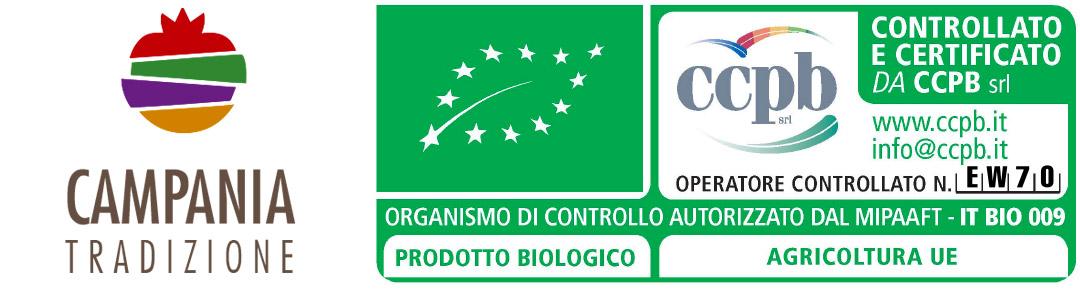 Campania Tradizione certificato di attestazione biologica