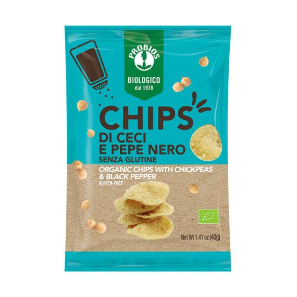 Chips Di Ceci E Pepe Nero