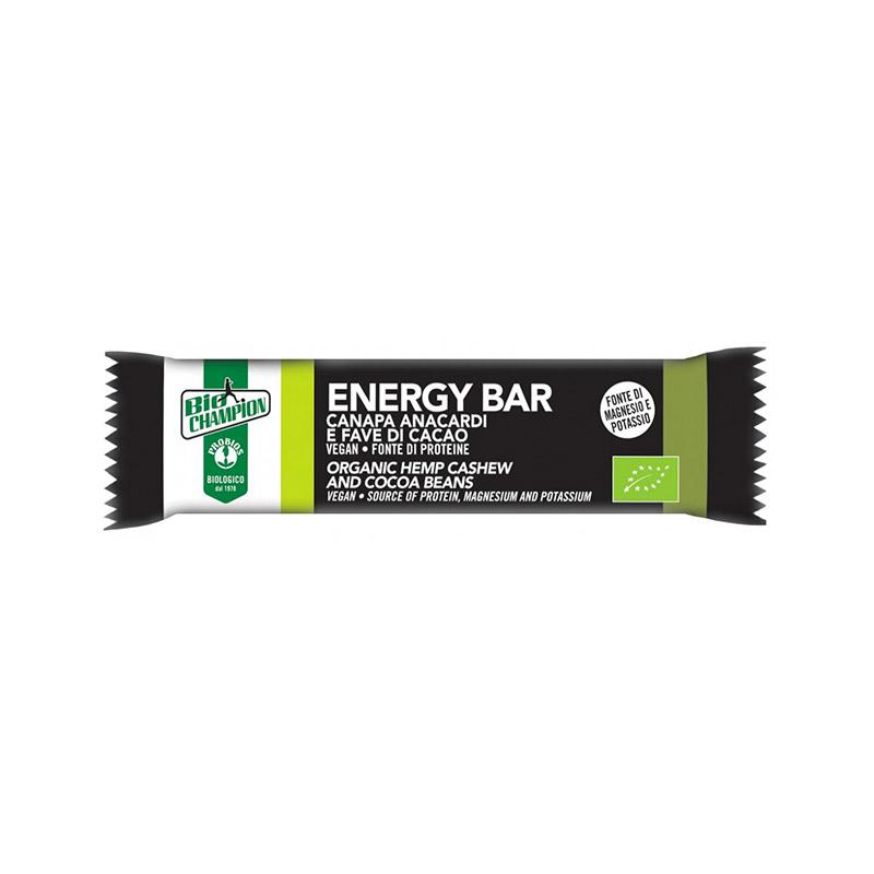 Probios Energy Bar Canapa Anacardi fave di cacao