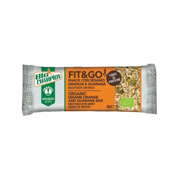 Fit&Go Snack Sesamo Arancia E Guaranà