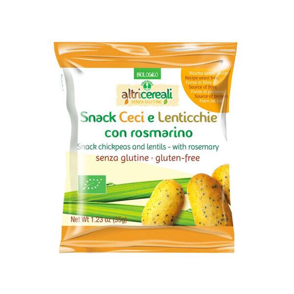 Snack Ceci E Lenticchie Con Rosamrino