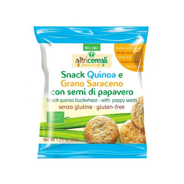 Snack Quinoa E Grano Saraceno Con Semi
