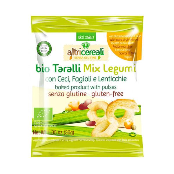 Taralli Mix Legumi Bio