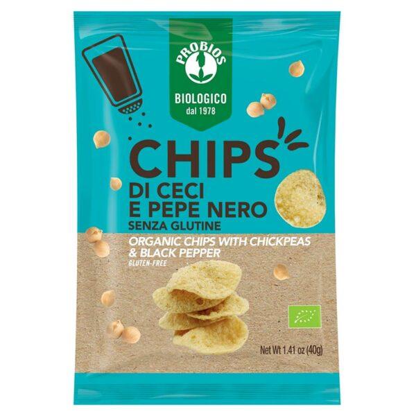 Chips Bio Ceci E Pepe