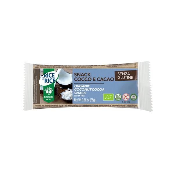 Snack Bio Gusto Cocco E Cacao