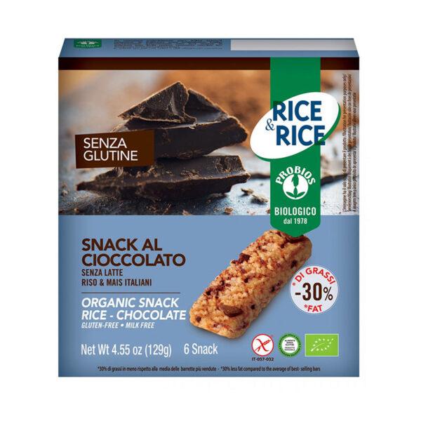 Snack Di Riso Al Cioccolato